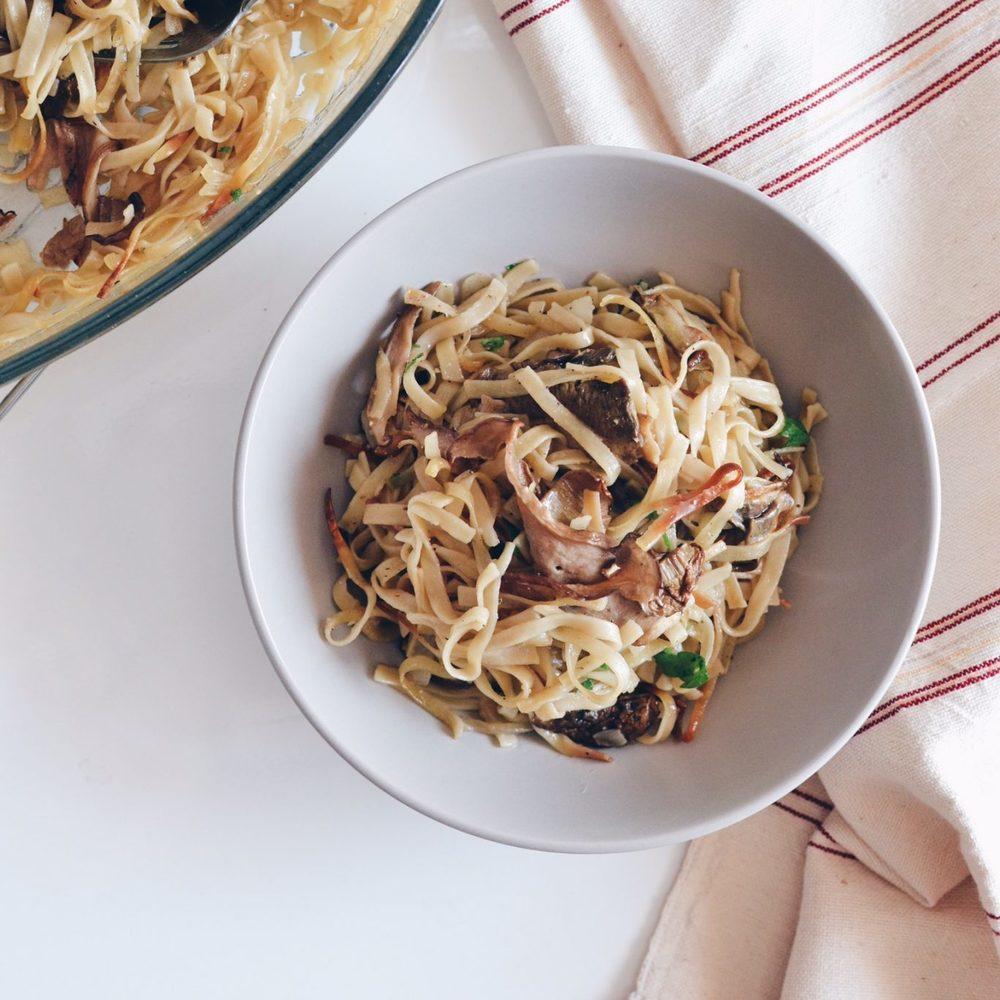 Homemade Jufka with dried porcini mushrooms Recipe | HeyFood — heyfoodapp.com