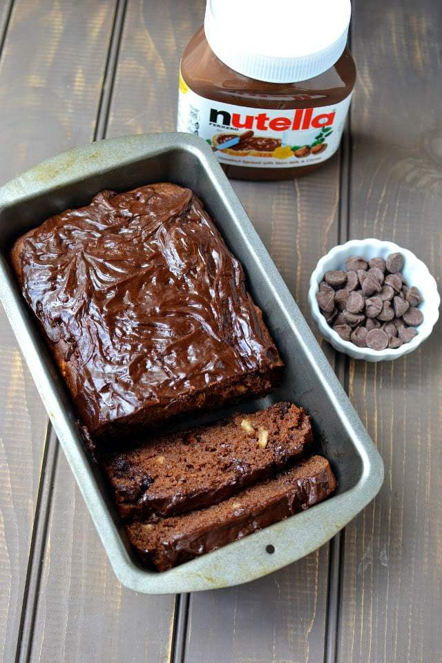 Chocolate Hazelnut Quick Bread Recipe | HeyFood — heyfoodapp.com
