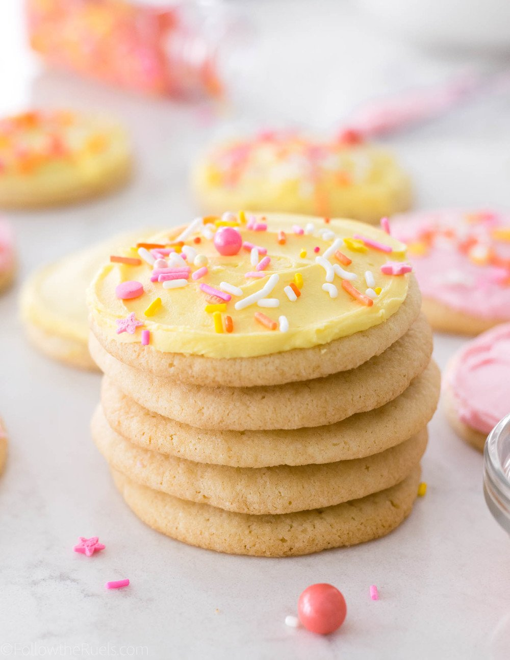Super Soft Sugar Cookies Recipe | HeyFood — heyfoodapp.com