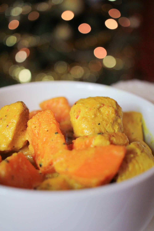 Turkey and Sweet Potato Thai Curry Recipe   HeyFood — heyfoodapp.com