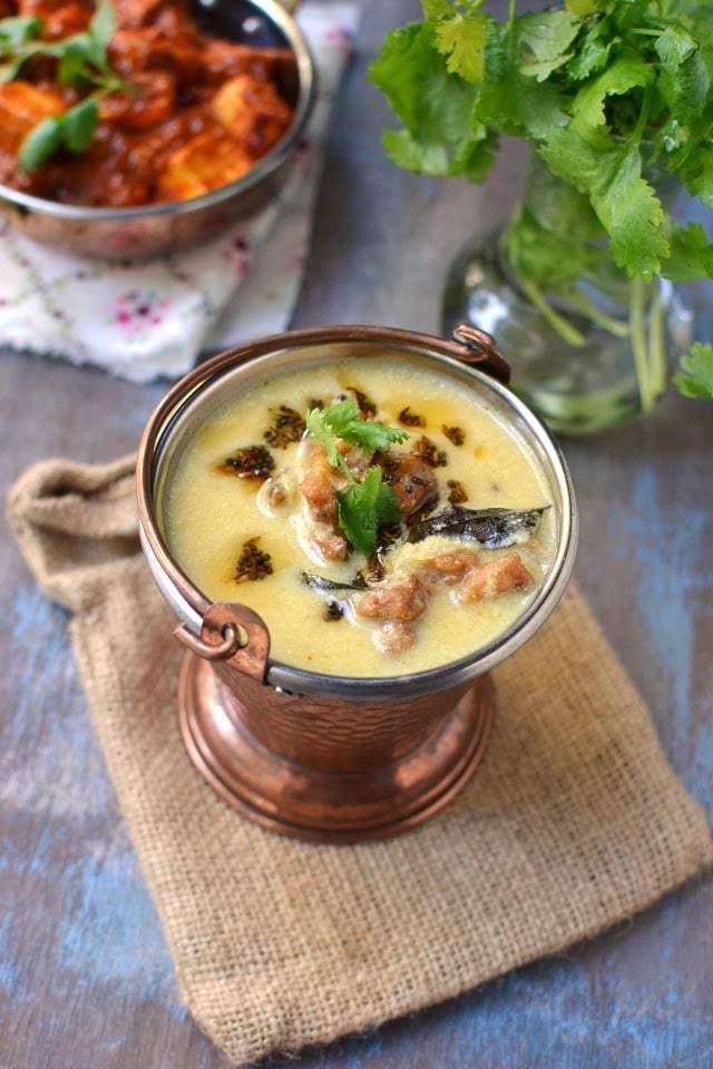 Punjabi Kadhi Pakora Recipe | HeyFood — heyfoodapp.com