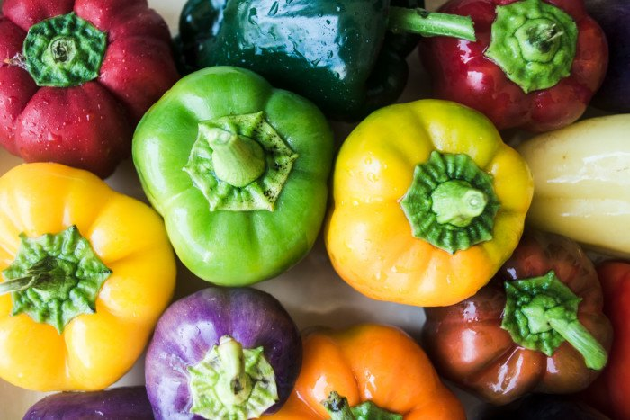 Mediterranean Stuffed Peppers Recipe | HeyFood — heyfoodapp.com