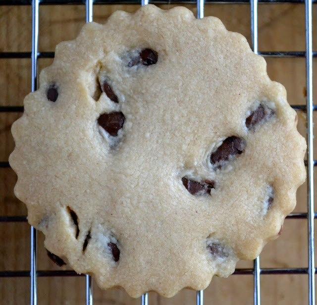 Milk Chocolate Chip Peanut Butter Shortbread Cookies Recipe | HeyFood — heyfoodapp.com