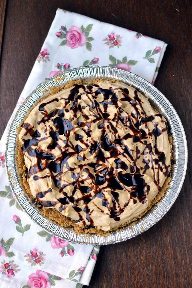Chocolate Peanut Butter Banana Cream Pie Recipe | HeyFood — heyfoodapp.com