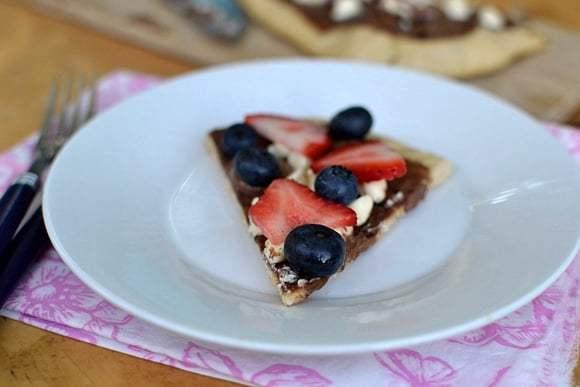 Chocolate Pizza (Grilled) Recipe | HeyFood — heyfoodapp.com