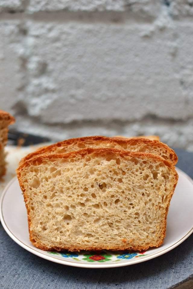 No-Knead Light Whole Wheat Bread Recipe | HeyFood — heyfoodapp.com