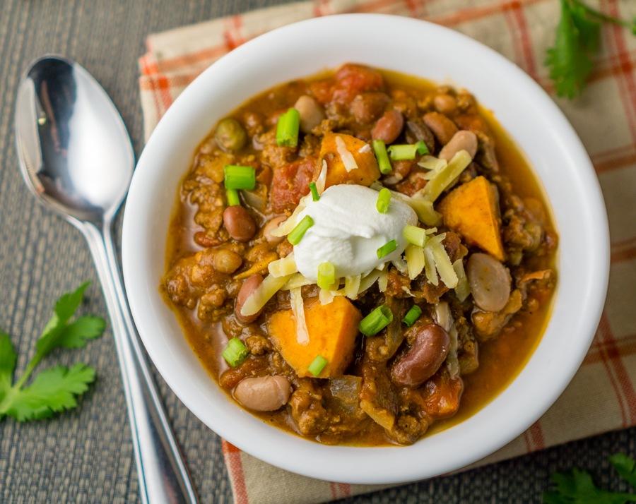 Sweet Potato Chili Recipe   HeyFood — heyfoodapp.com