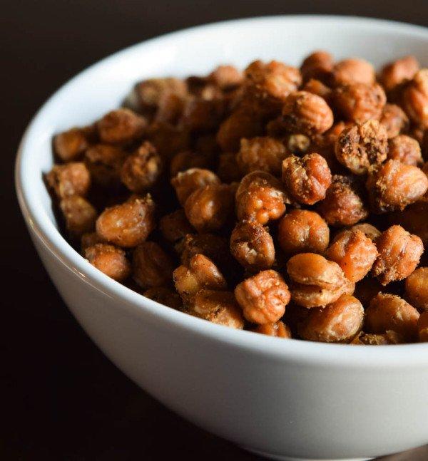 Toasted Chickpeas Recipe | HeyFood — heyfoodapp.com