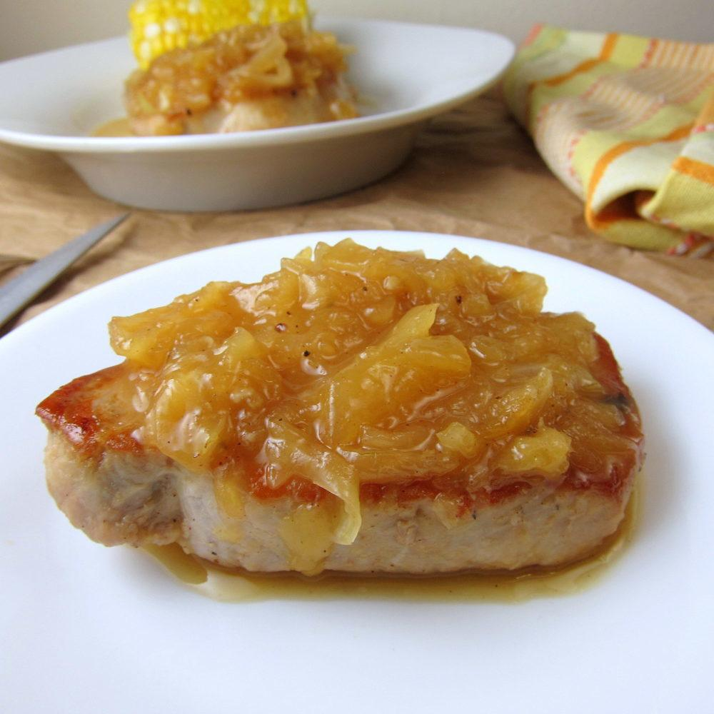 Easy Pineapple Pork Chops Recipe   HeyFood — heyfoodapp.com