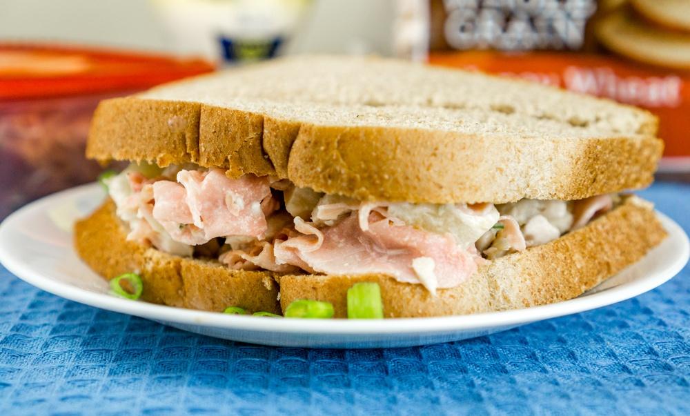 Hawaiian Chicken Salad Sandwich Recipe | HeyFood — heyfoodapp.com