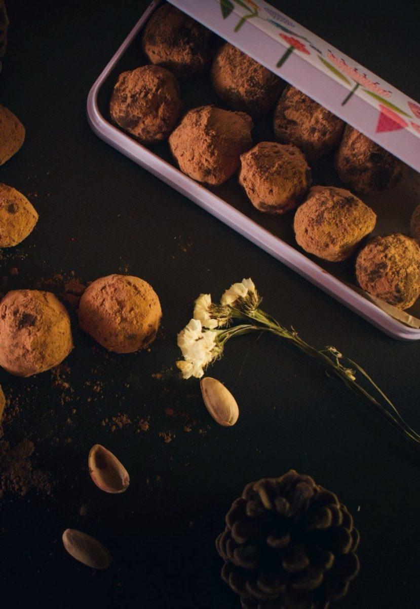 Dark Chocolate Truffles Recipe | HeyFood — heyfoodapp.com
