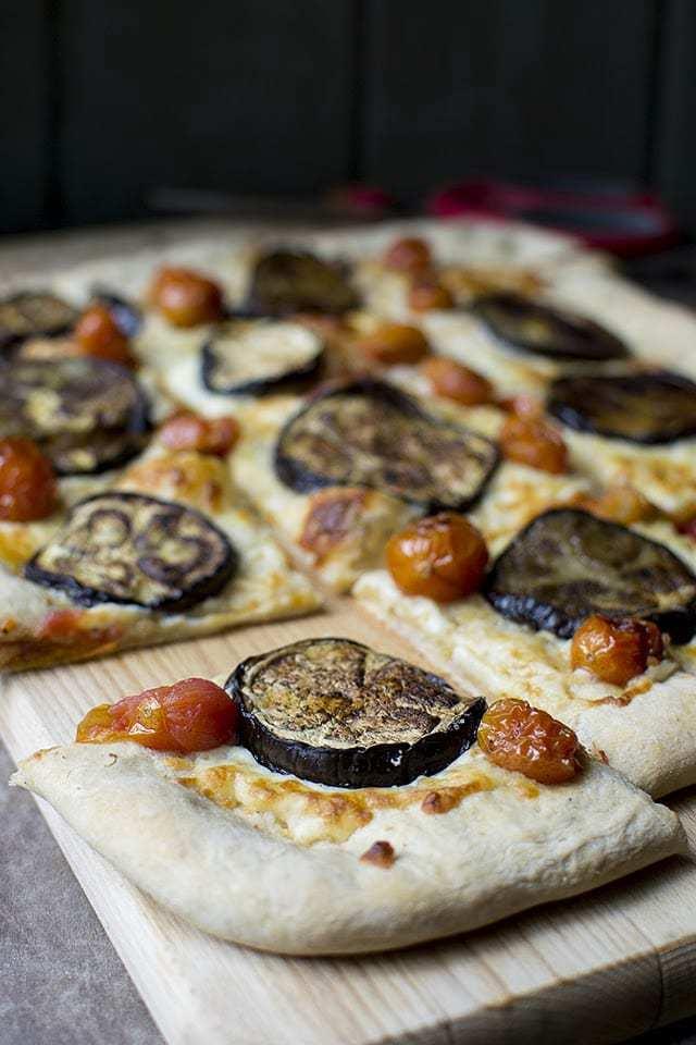 Easy to make Pizza Dough with Italian Vegetarian toppings Recipe | HeyFood — heyfoodapp.com