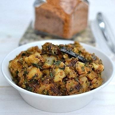 Alu Methi Curry with Sesame Seeds powder Recipe | HeyFood — heyfoodapp.com
