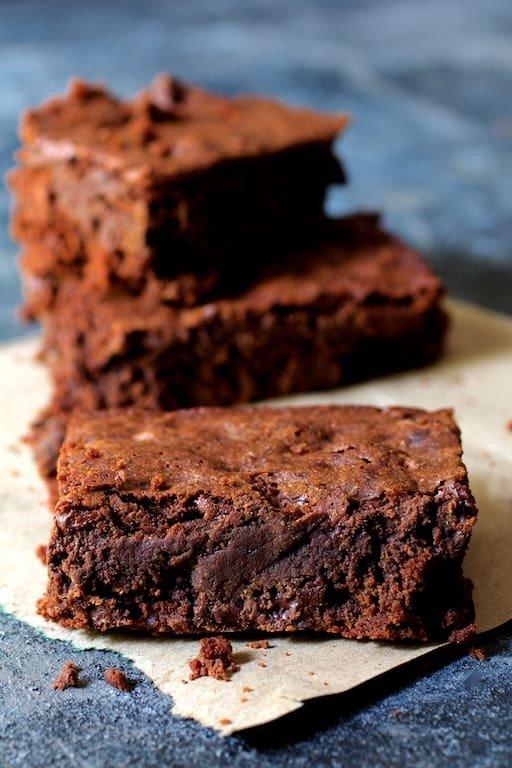 Whole Wheat Ancho Chili Brownies Recipe   HeyFood — heyfoodapp.com