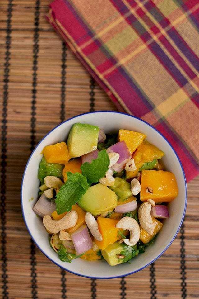 Avocado Mango Salad Recipe | HeyFood — heyfoodapp.com