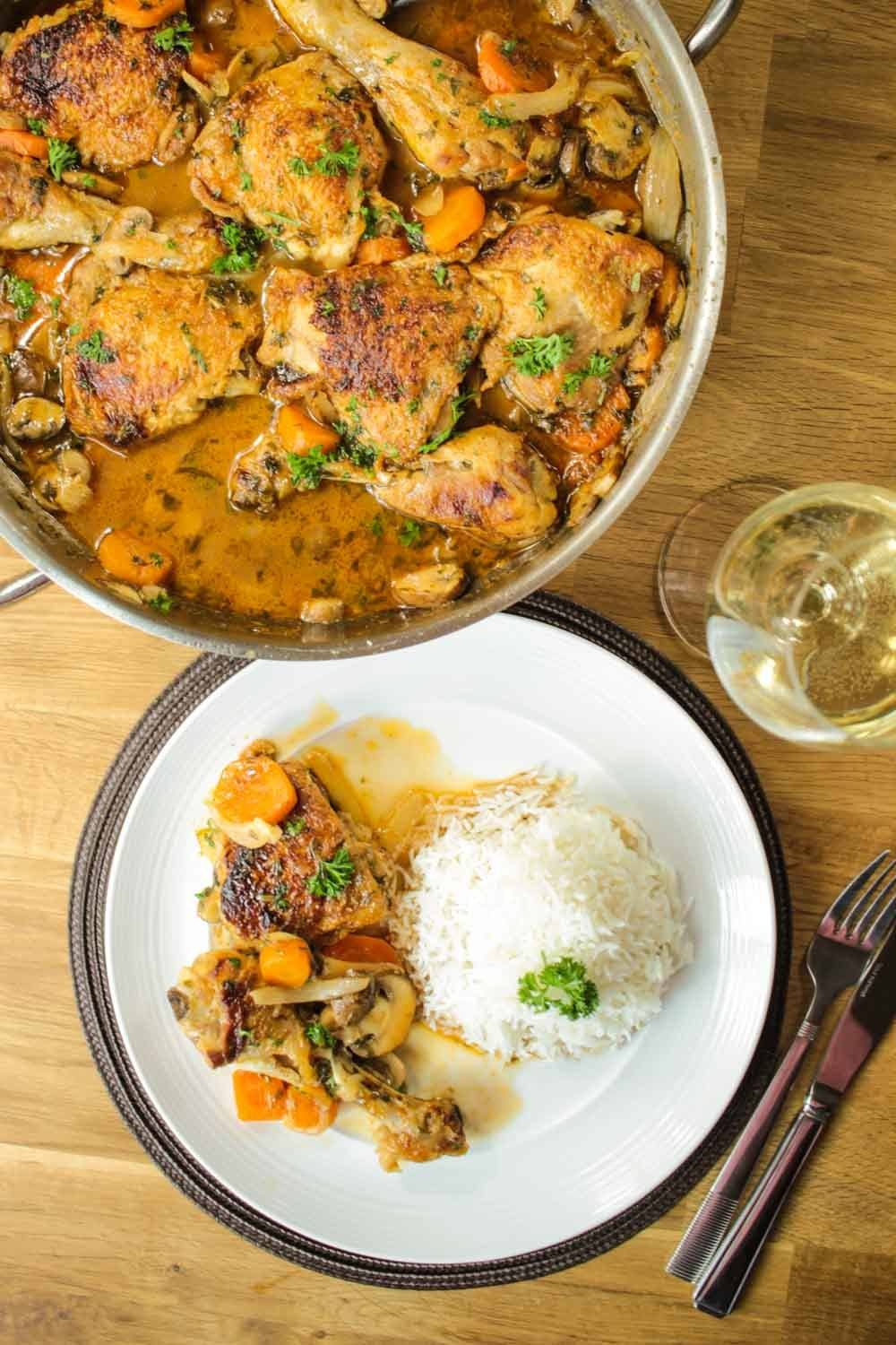 Chicken Chasseur Recipe | HeyFood — heyfoodapp.com