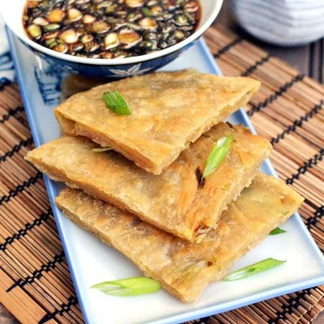 Scallion Pancakes Recipe | HeyFood — heyfoodapp.com