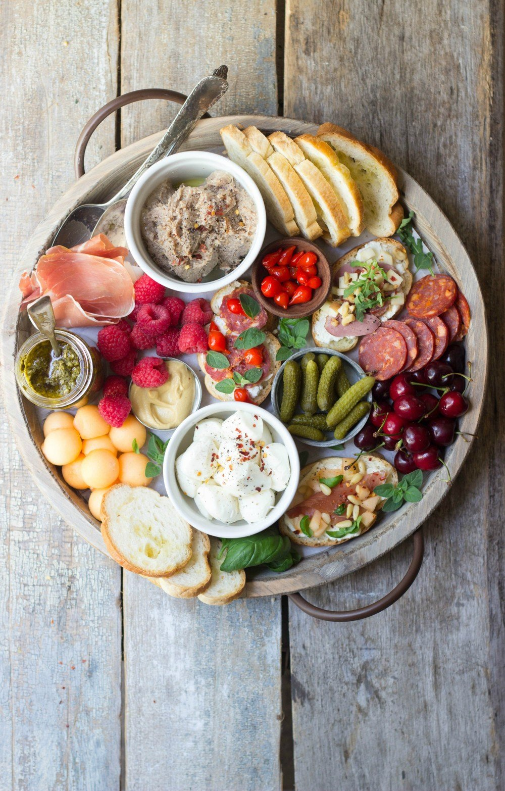 Charcuterie Party Board Recipe | HeyFood — heyfoodapp.com