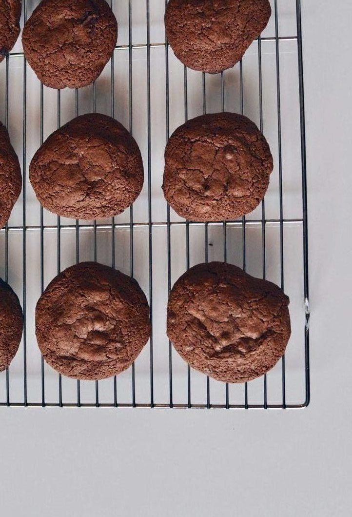 Brownie cookies - every chocolate lover dream cookie Recipe | HeyFood — heyfoodapp.com