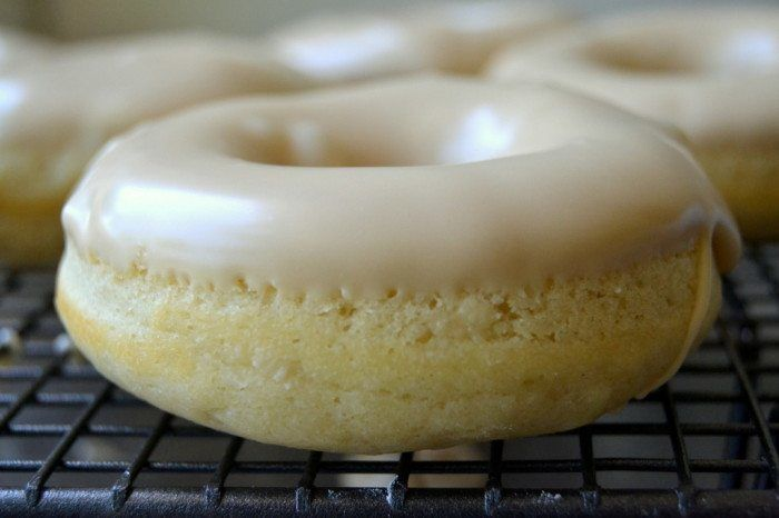 One-Bowl Maple Glazed Buttermilk Doughnuts Recipe | HeyFood — heyfoodapp.com