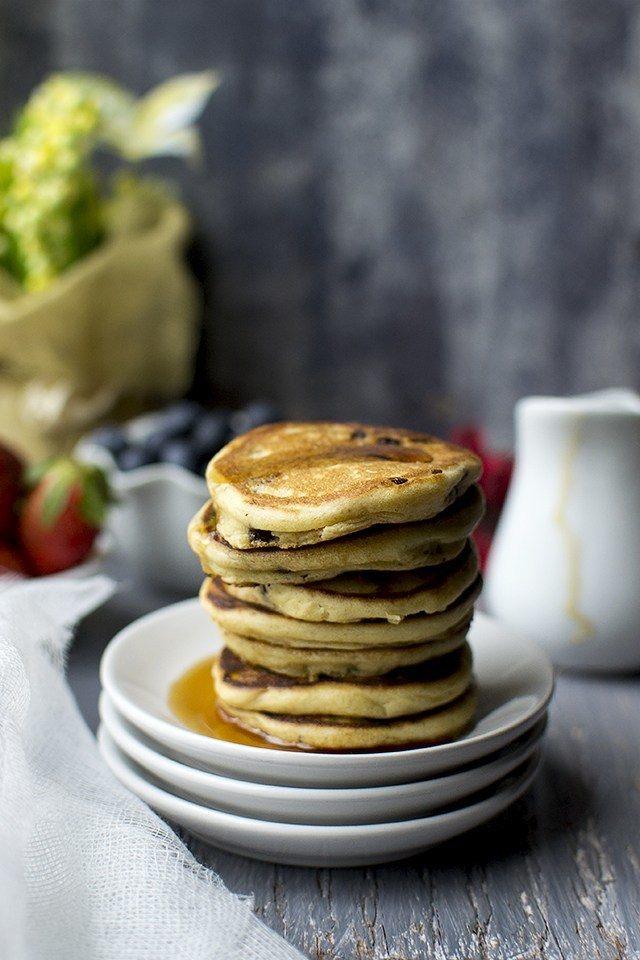 Oats and Sour cream Pancakes Recipe   HeyFood — heyfoodapp.com