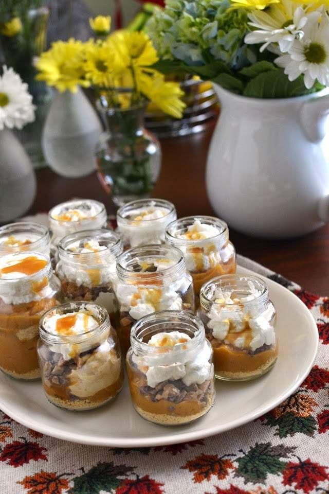 Individual Pumpkin Pies Recipe | HeyFood — heyfoodapp.com