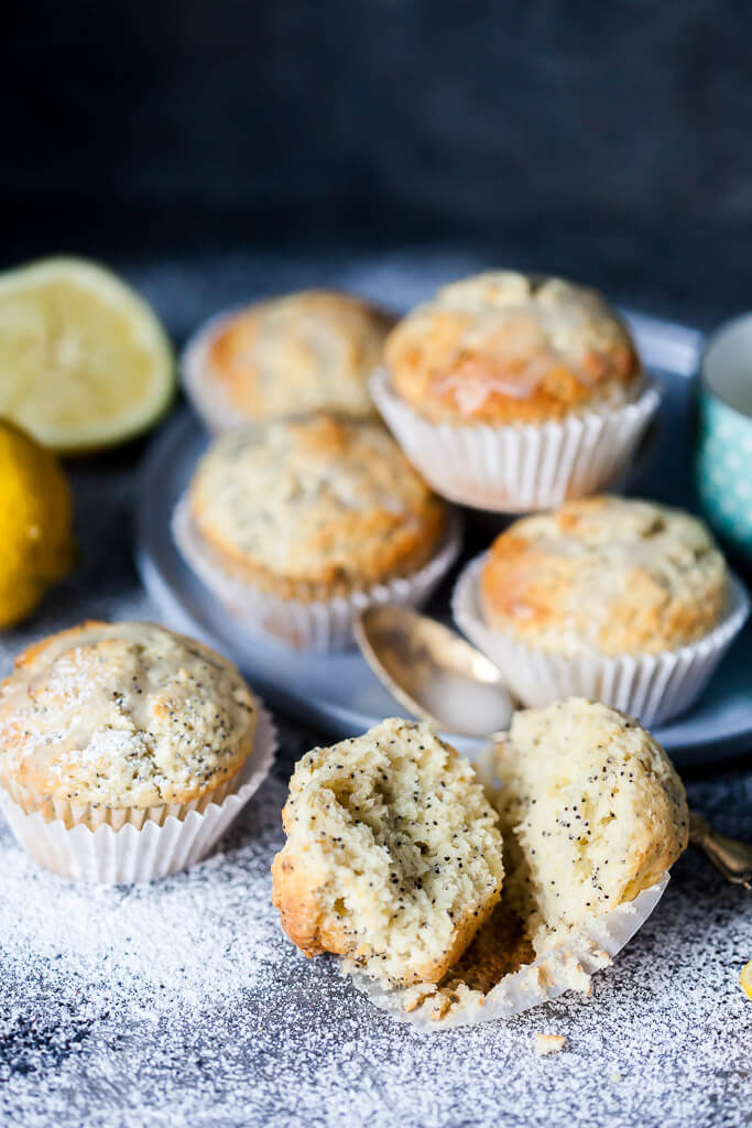Lemon Poppy Seed Muffins Recipe | HeyFood — heyfoodapp.com