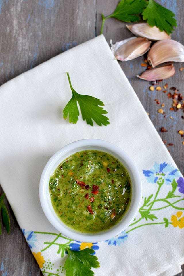 Chimichurri Sauce Recipe | HeyFood — heyfoodapp.com