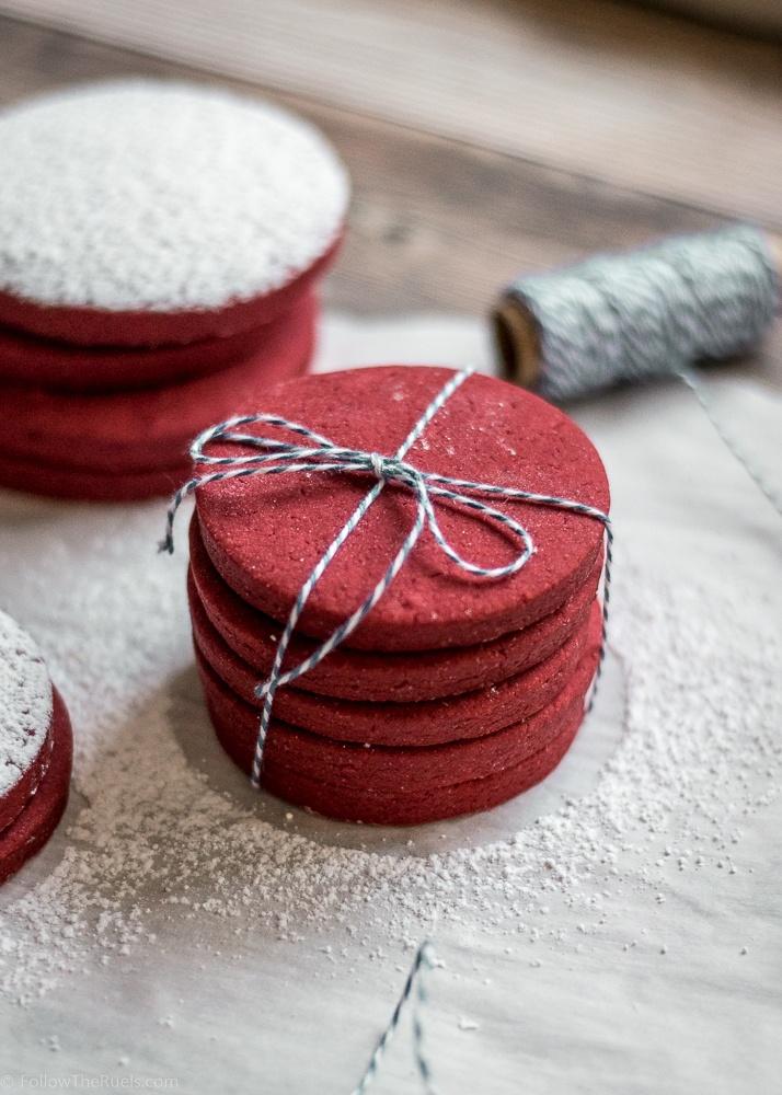 Red Velvet Sugar Cookies Recipe | HeyFood — heyfoodapp.com