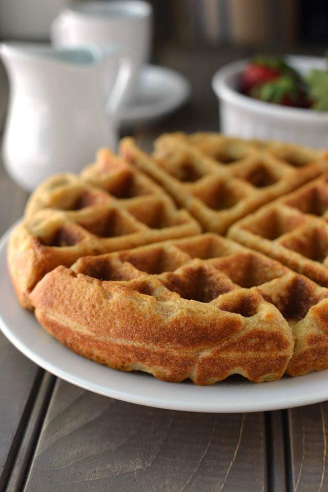 Wholewheat Waffles Recipe | HeyFood — heyfoodapp.com