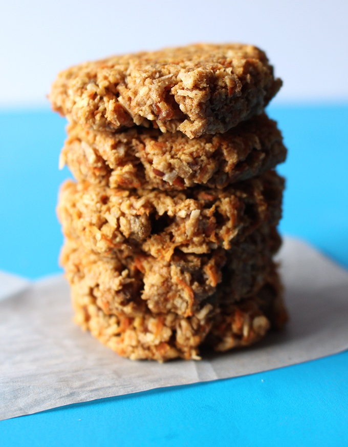 Coconut Carrot Cake Cookies Recipe | HeyFood — heyfoodapp.com