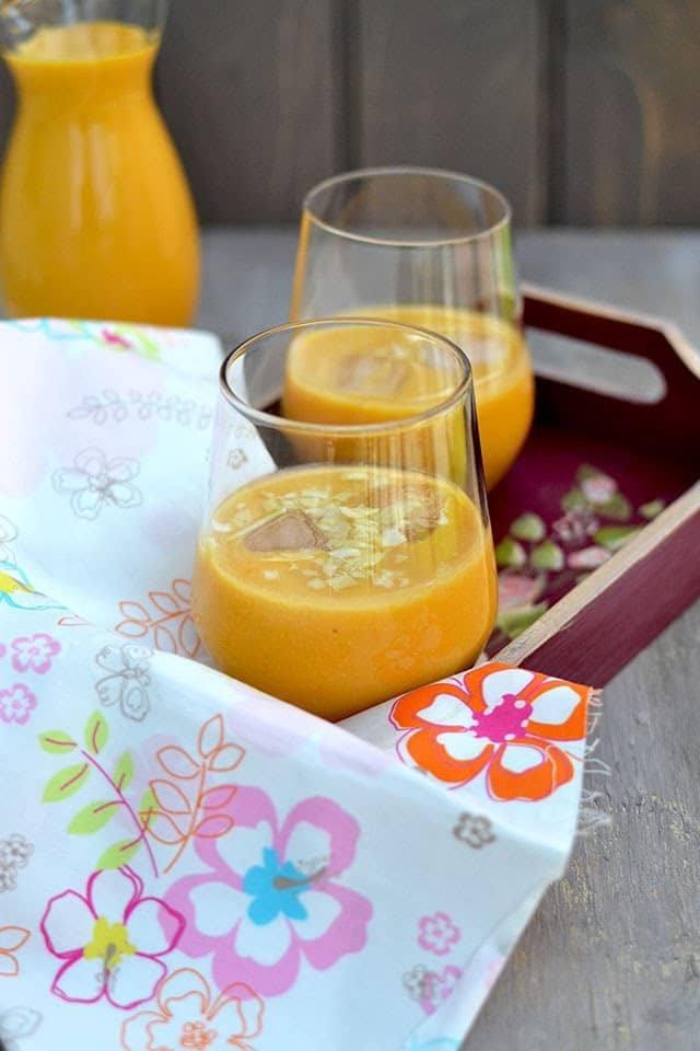 Mango Almond Smoothie Recipe | HeyFood — heyfoodapp.com