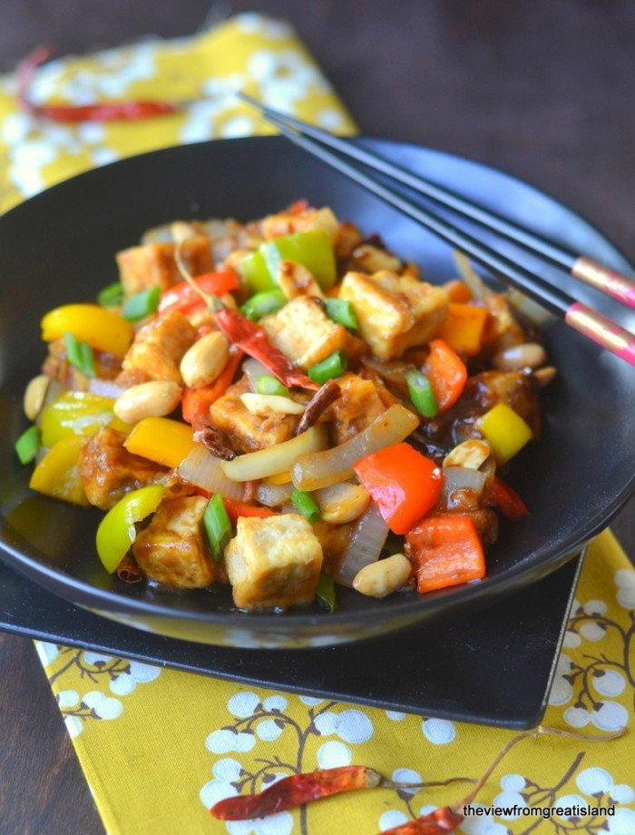 Kung Pao Tofu Recipe | HeyFood — heyfoodapp.com
