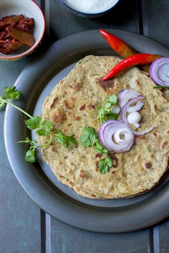Dhapate (Spicy Maharashtrian Flatbread) Recipe | HeyFood — heyfoodapp.com