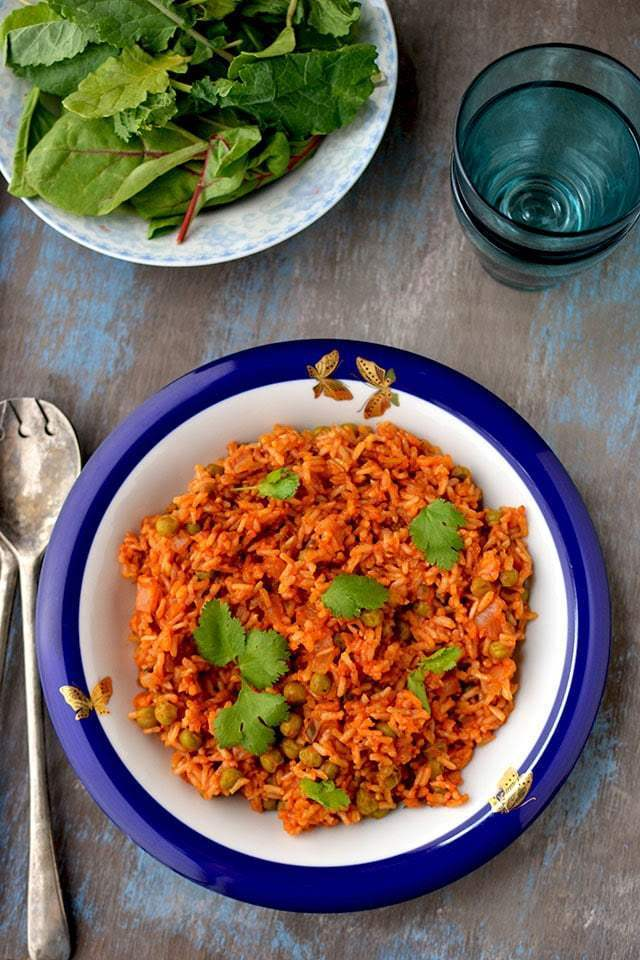 Jollof Brown Rice Recipe | HeyFood — heyfoodapp.com