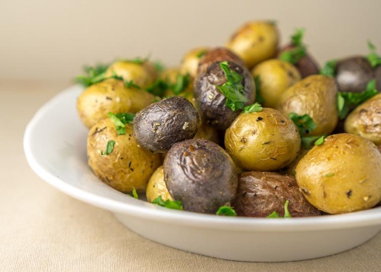 Roasted Young Potatoes with Herbs Recipe | HeyFood — heyfoodapp.com