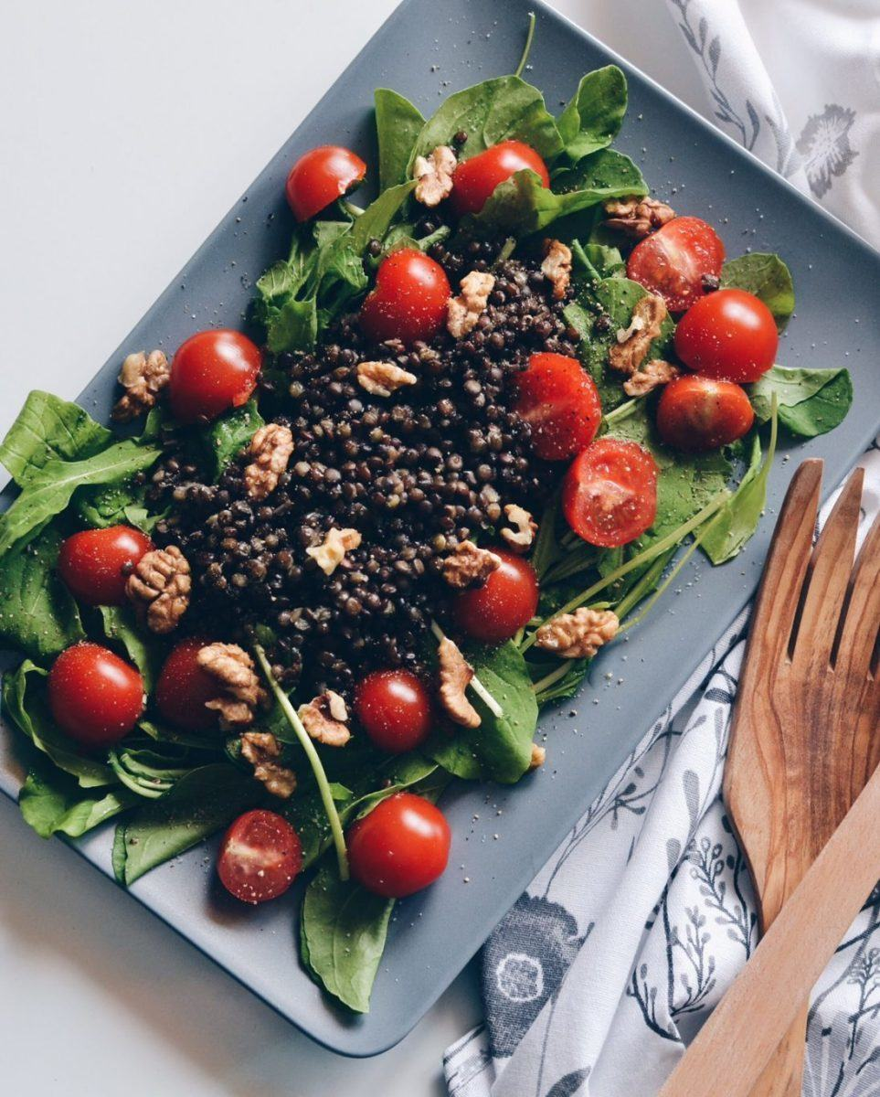 Arugula & lentils salad Recipe | HeyFood — heyfoodapp.com