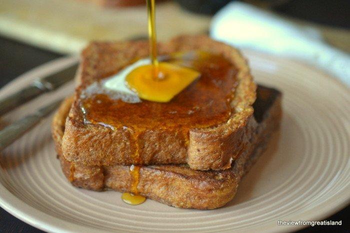 Gingerbread French Toast Recipe | HeyFood — heyfoodapp.com