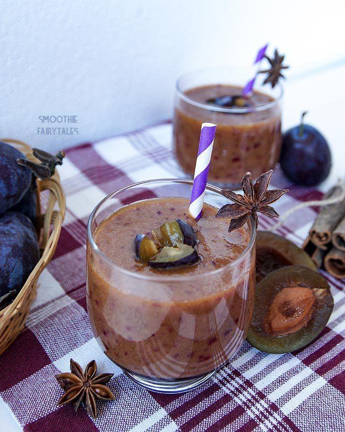 Spiced Apple & Plum Smoothie Recipe | HeyFood — heyfoodapp.com