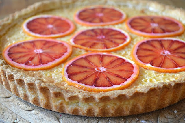 Sicilian Orange Tart Recipe | HeyFood — heyfoodapp.com