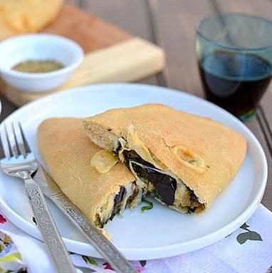 Vegetarian Wholewheat Calzones Recipe | HeyFood — heyfoodapp.com
