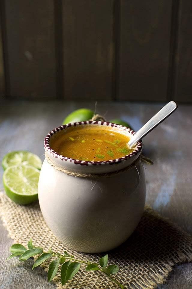 Lemon Rasam Recipe | HeyFood — heyfoodapp.com