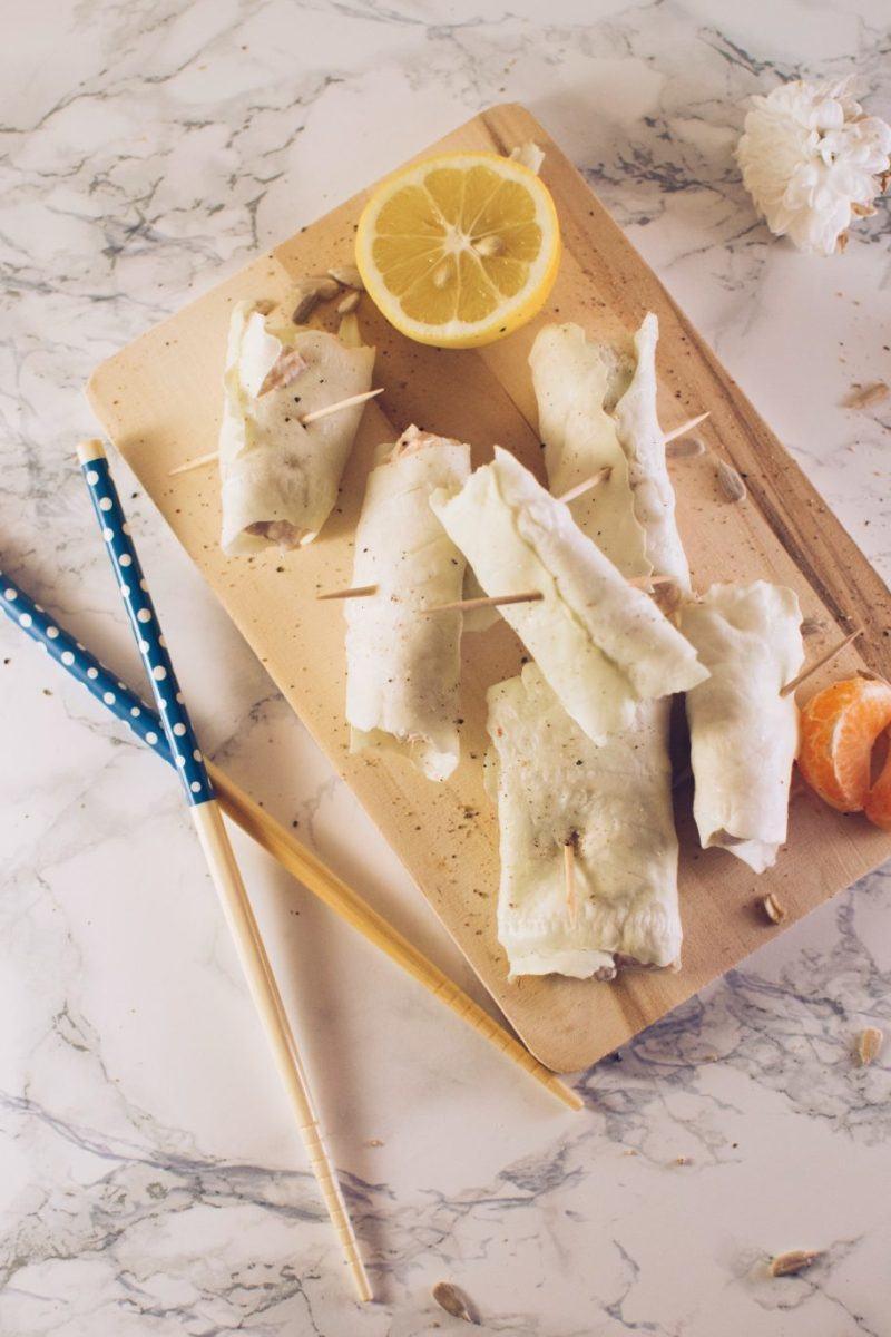 White cabbage, ricotta and tuna rolls Recipe | HeyFood — heyfoodapp.com