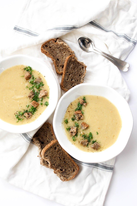 Cauliflower Potato Soup Recipe | HeyFood — heyfoodapp.com