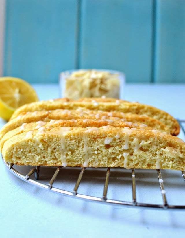 Lemon Almond Biscotti Recipe   HeyFood — heyfoodapp.com