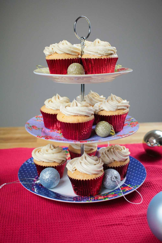 Orange Cupcakes with Cinnamon Frosting Recipe   HeyFood — heyfoodapp.com
