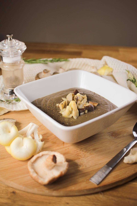 Wild Mushroom Soup Recipe | HeyFood — heyfoodapp.com
