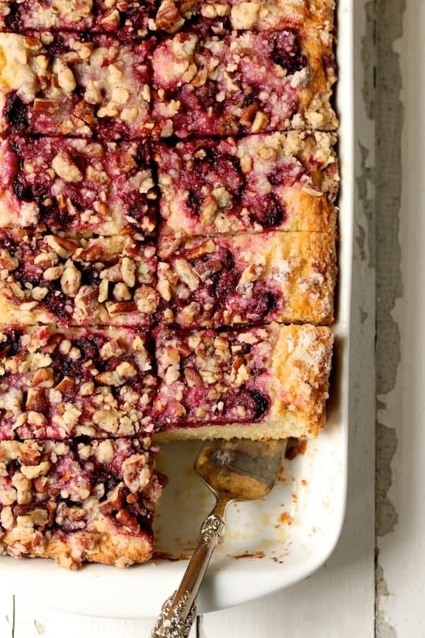 Easy Raspberry Coffee Cake Recipe   HeyFood — heyfoodapp.com