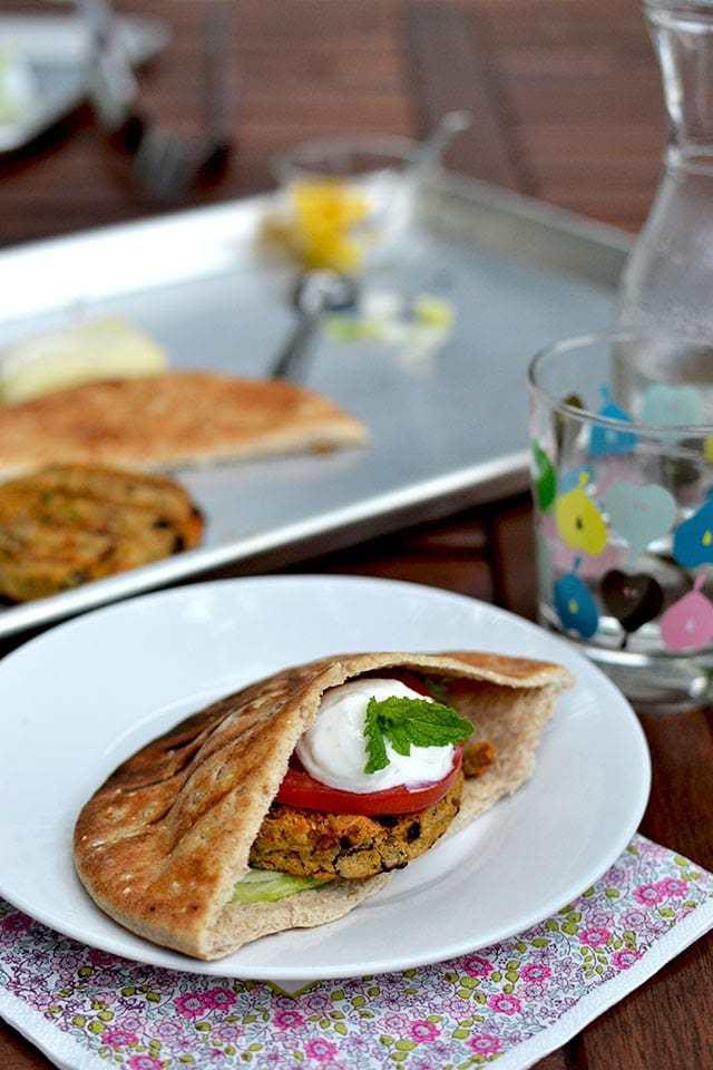 Lentil Chickpea Burger Recipe | HeyFood — heyfoodapp.com