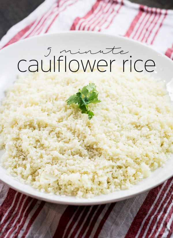 5 Minute Cauliflower Rice Recipe | HeyFood — heyfoodapp.com